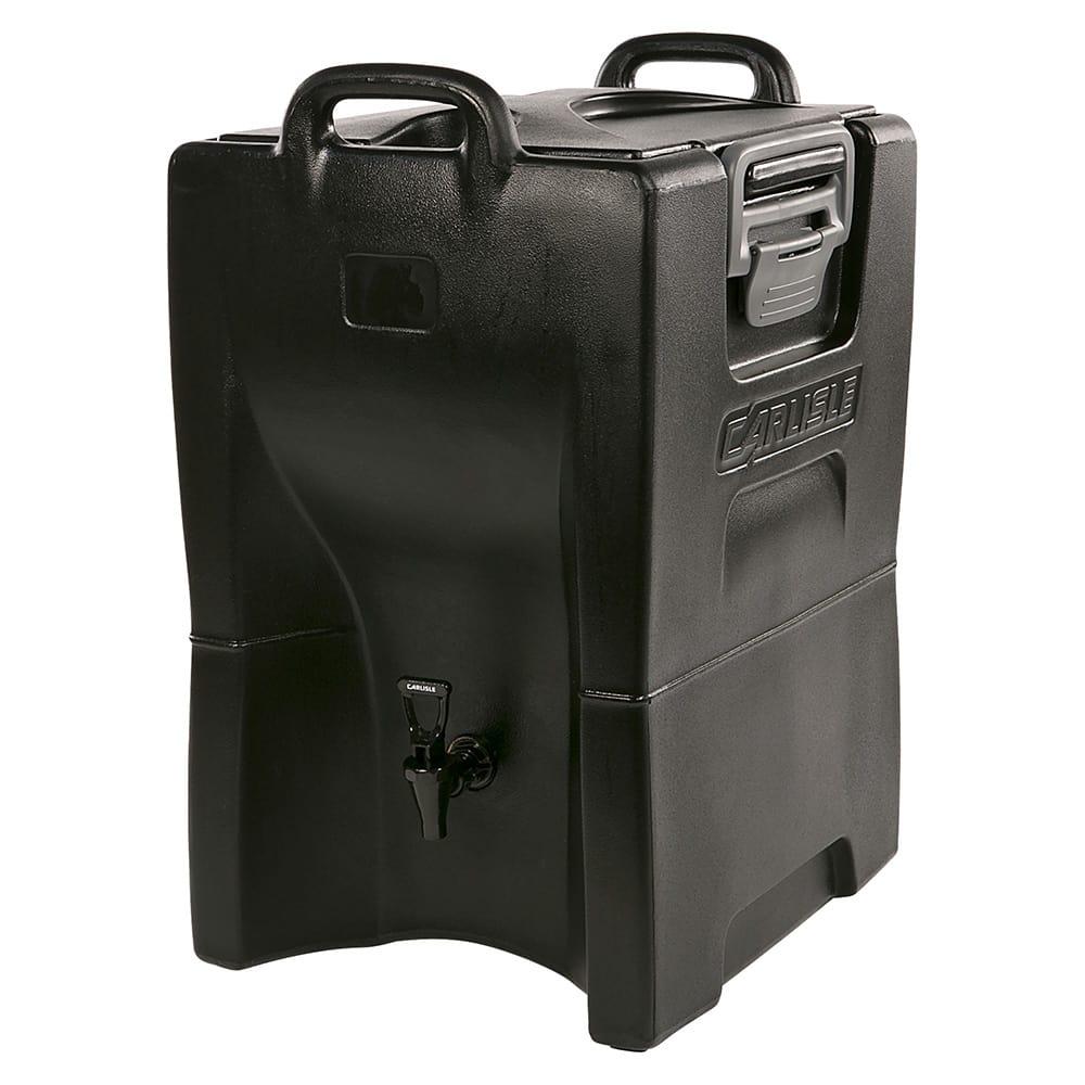 Carlisle IT100003 10-gal Cateraide Insulated Beverage Dispenser - Onyx Black