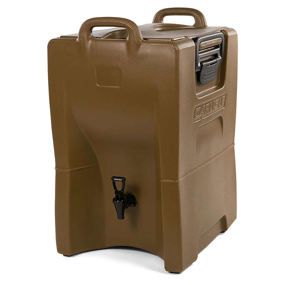 Carlisle IT100043 10-gal Cateraide Insulated Beverage Dispenser - Caramel