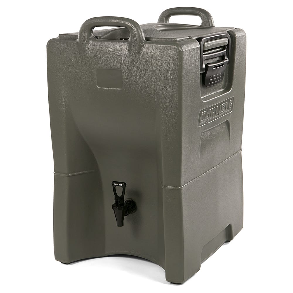 Carlisle IT100062 10-gal Cateraide Insulated Beverage Dispenser - Olive Green