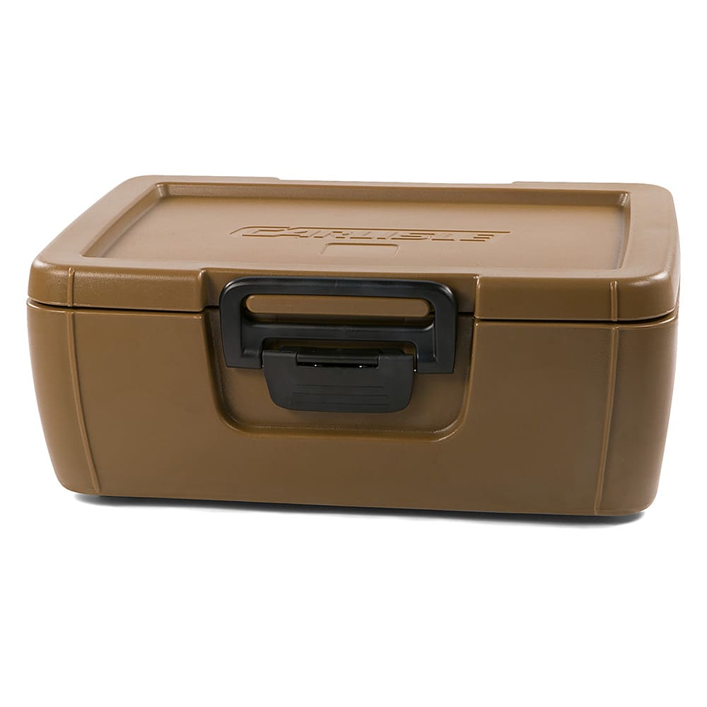 Carlisle IT16043 Cateraide™ Insulated Food Carrier - 18 qt w/ (1) Pan Capicity, Caramel
