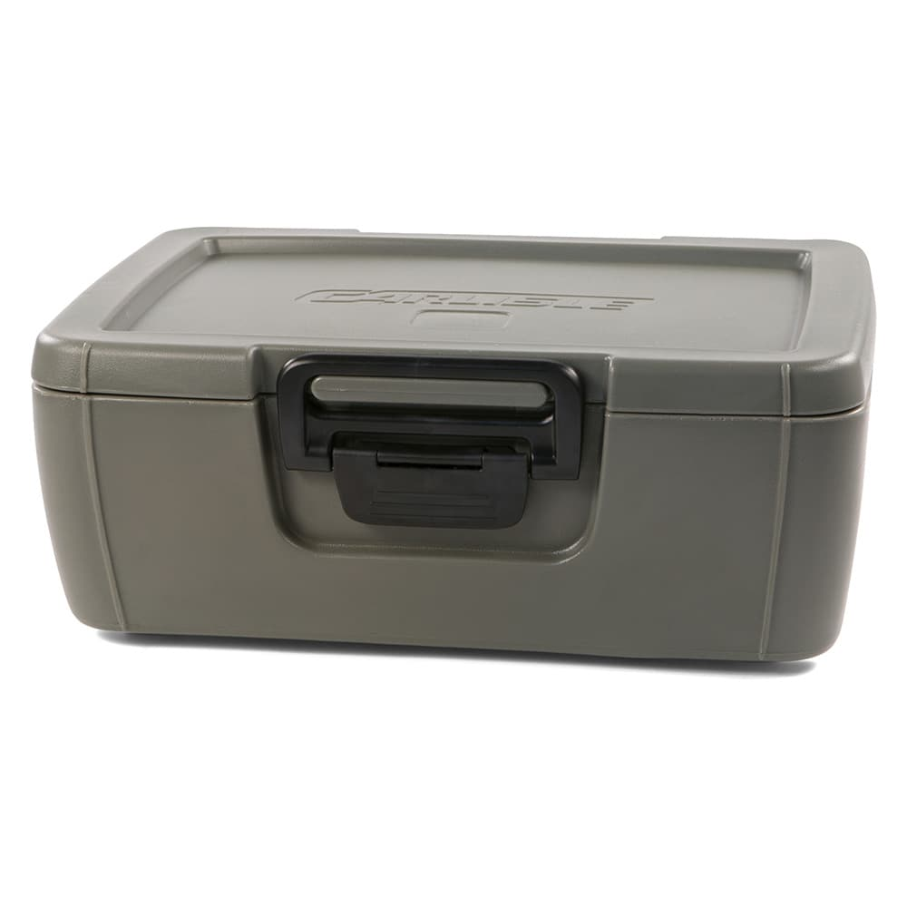 Carlisle IT16062 18-qt Cateraide Top Loading Insulated Food Carrier - Olive Green