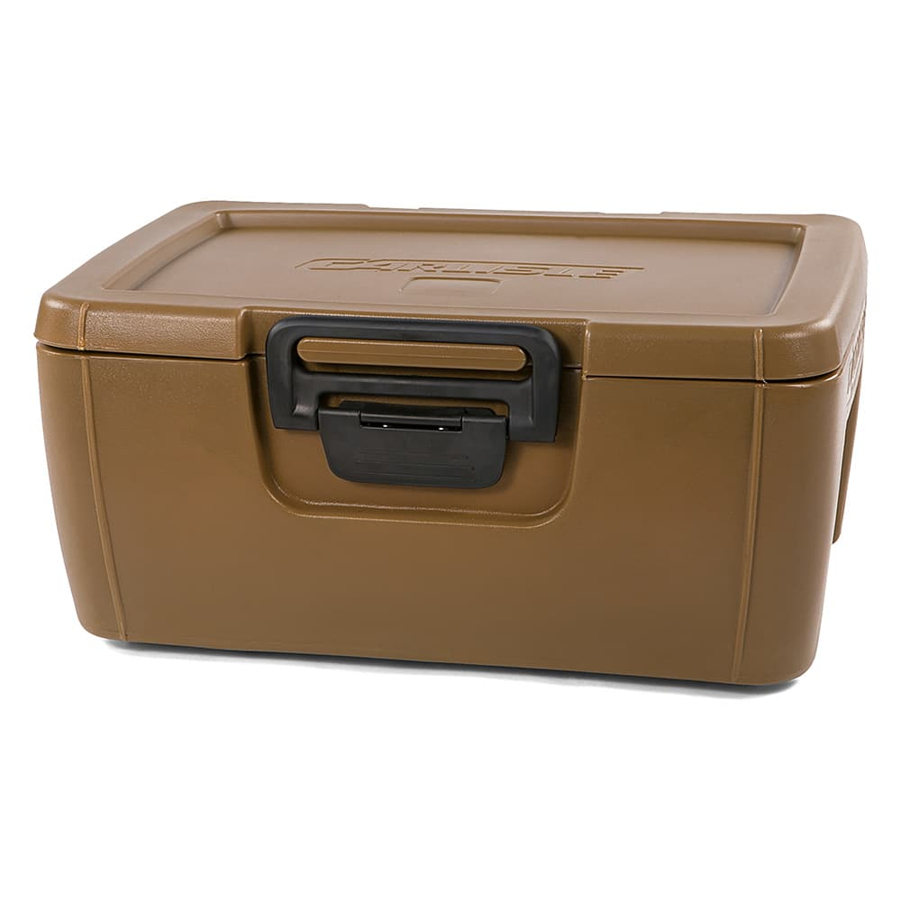 Carlisle IT18043 24-qt Cateraide Top Loading Insulated Food Carrier - Caramel