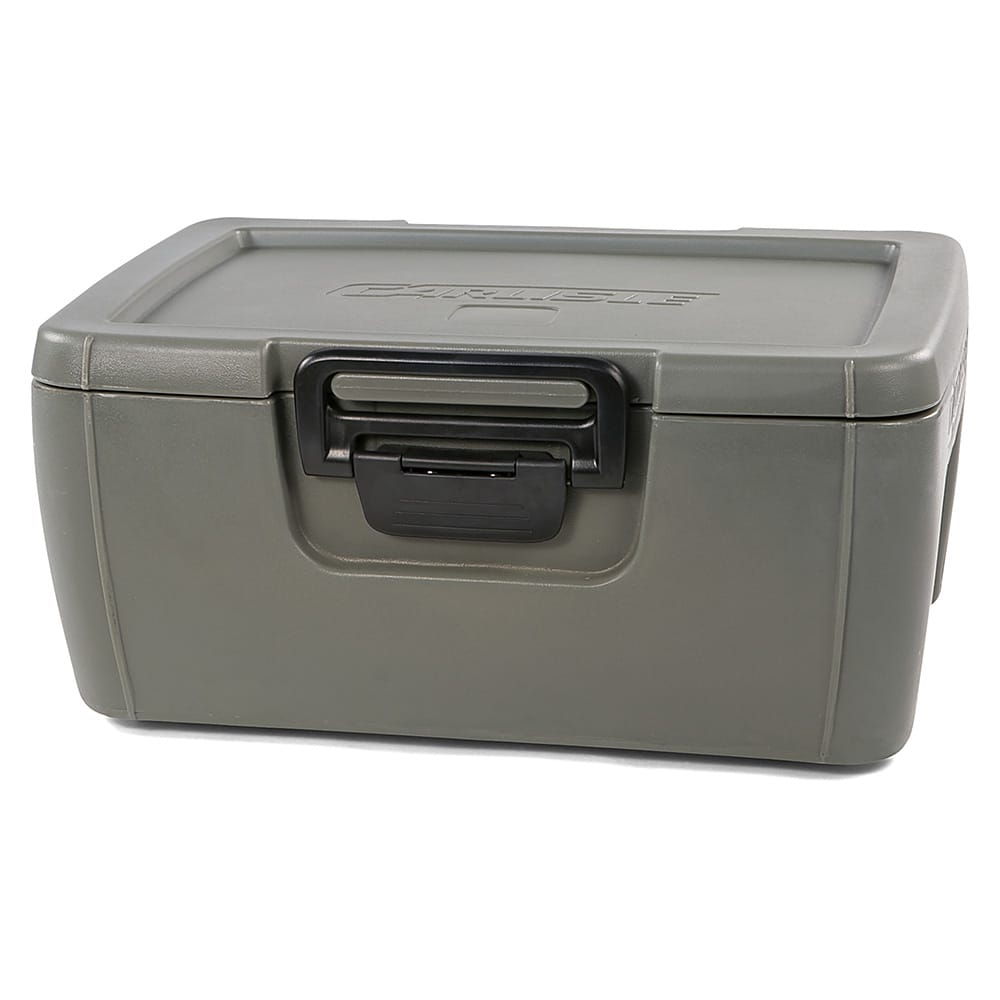 Carlisle IT18062 24-qt Cateraide Top Loading Insulated Food Carrier - Olive Green