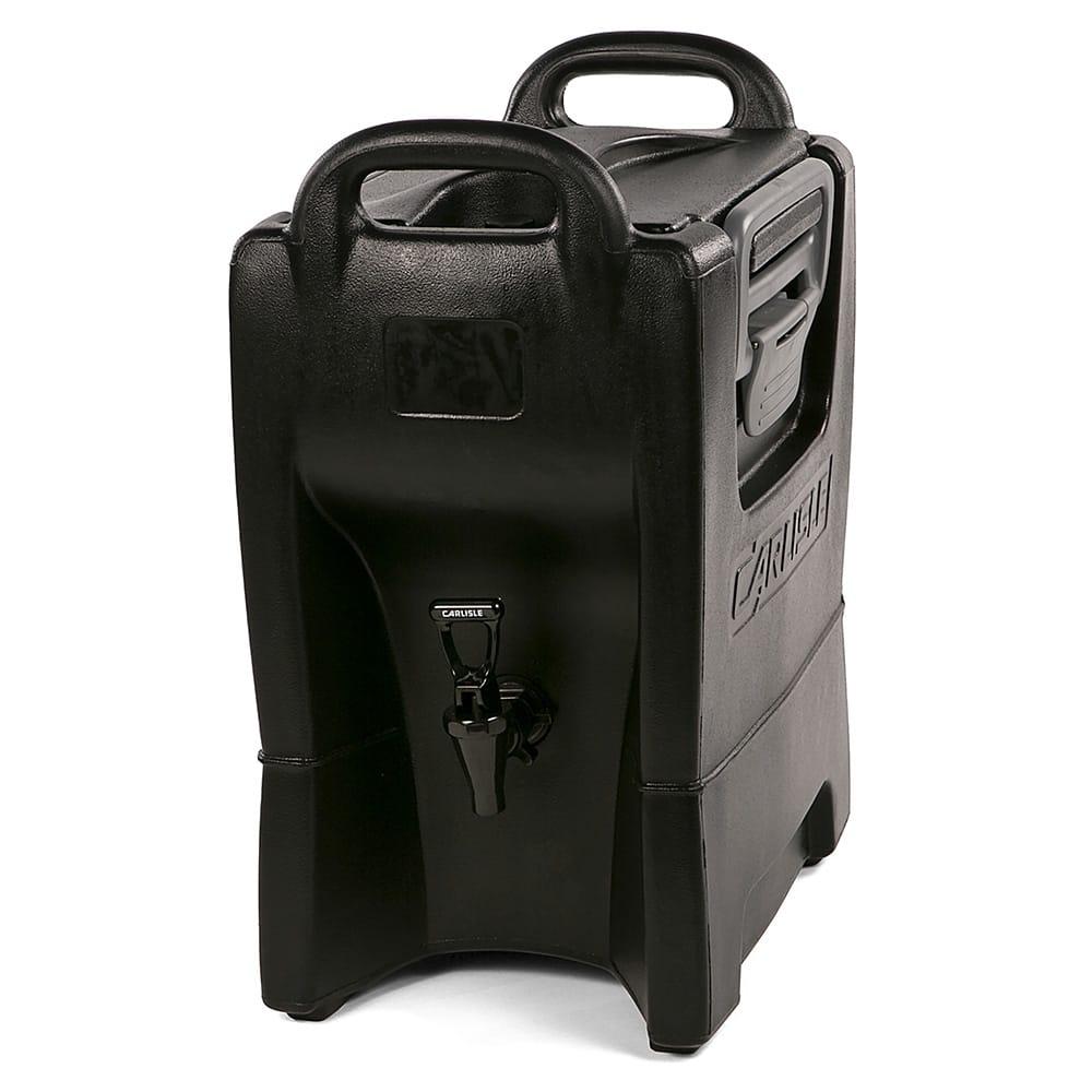 Carlisle IT25003 2.5 gal Cateraide Insulated Beverage Dispenser - Onyx Black