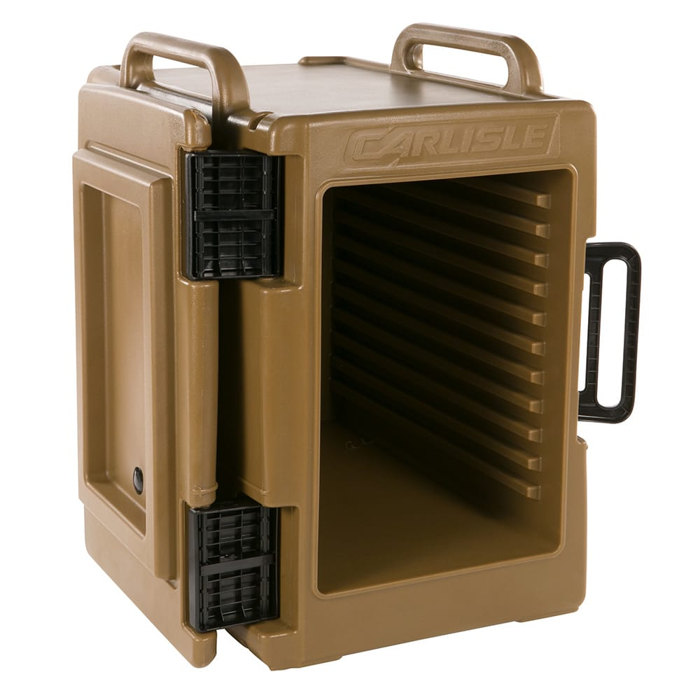 Carlisle IT40043 Cateraide™ Insulated Food Carrier - 60 qt w/ (6) Pan Capacity, Caramel