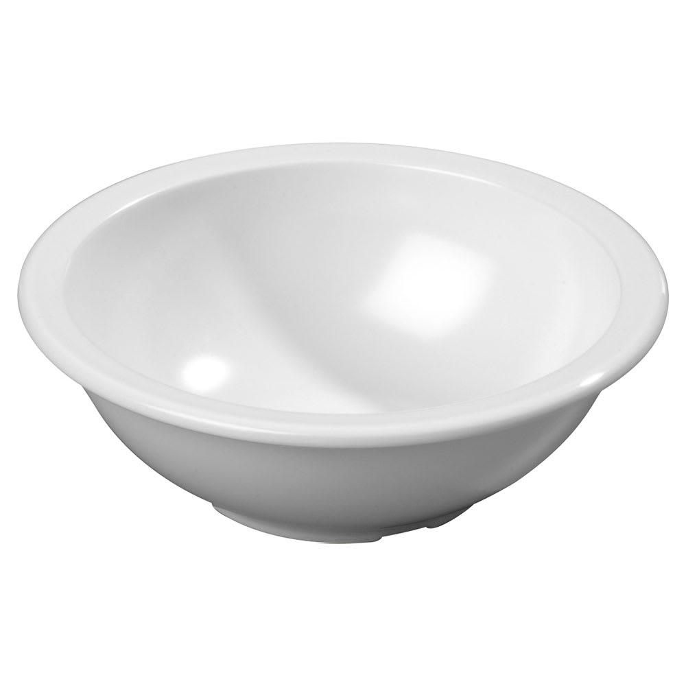 "Carlisle KL11502 6.125"" Round Chowder Bowl w/ 16-oz Capacity, Melamine, White"
