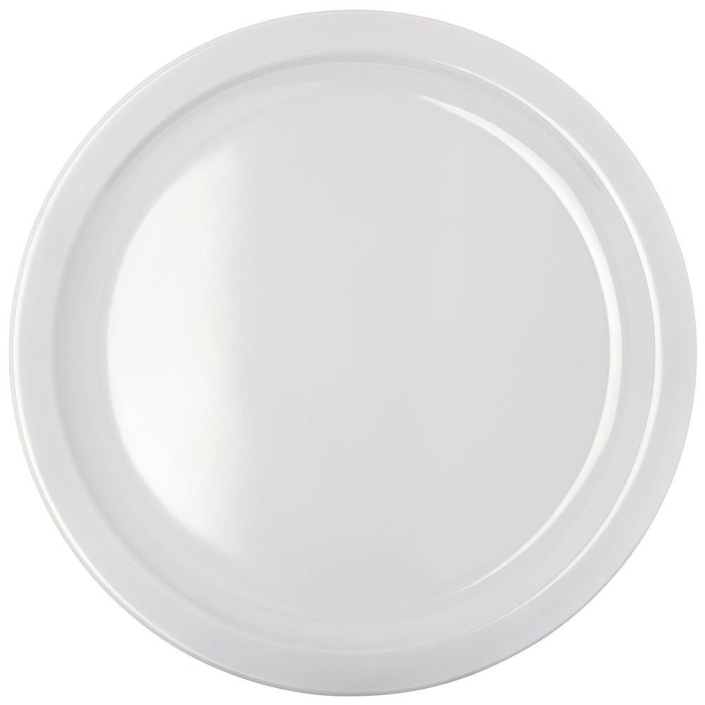 """Carlisle KL11602 10"""" Round Dinner Plate - Melamine, White"""