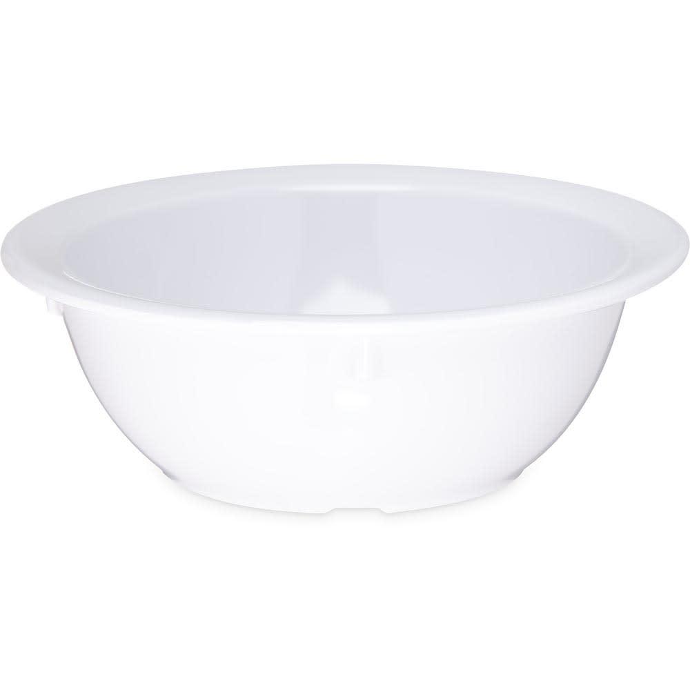"""Carlisle KL11902 5.5"""" Round Nappie Bowl w/ 12.5-oz Capacity, Melamine, White"""