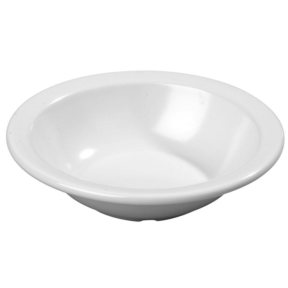 "Carlisle KL12102 5.875"" Round Grapefruit Bowl w/ 10 oz Capacity, Melamine, White"