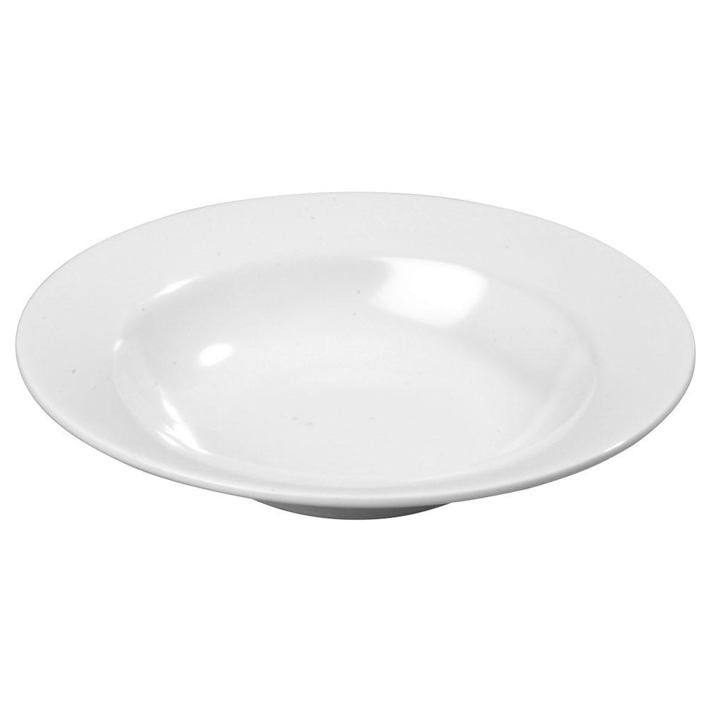 "Carlisle KL12302 7.75"" Round Salad Bowl w/ 8 oz Capacity, Melamine, White"
