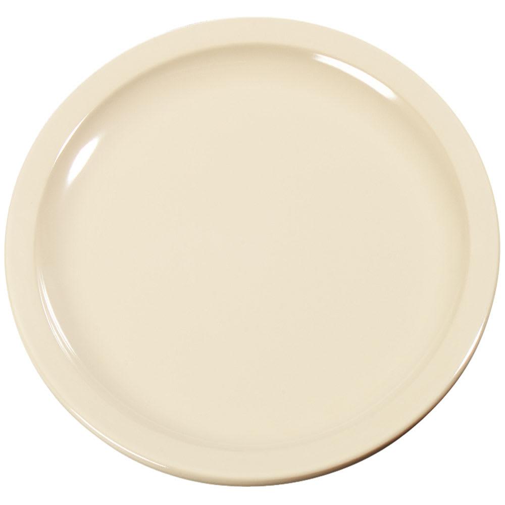 """Carlisle KL20425 6.5"""" Round Pie Plate - Melamine, Tan"""