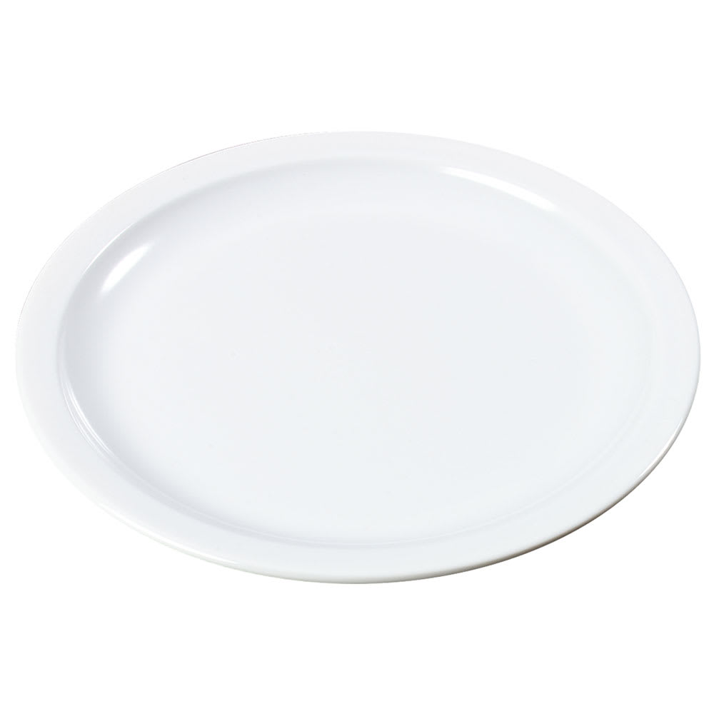 """Carlisle KL20502 5.5"""" Round Bread & Butter Plate - Melamine, White"""