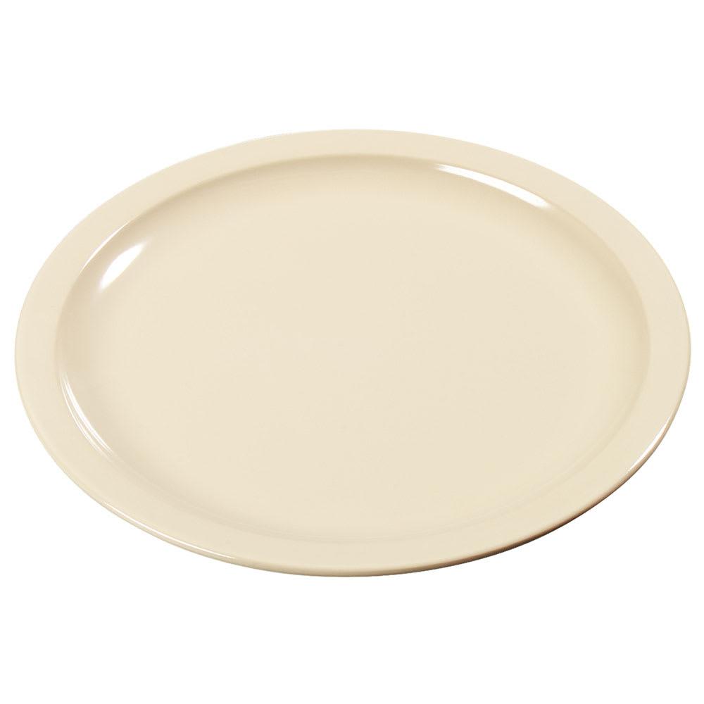 "Carlisle KL20525 5.5"" Round Bread & Butter Plate - Melamine, Tan"
