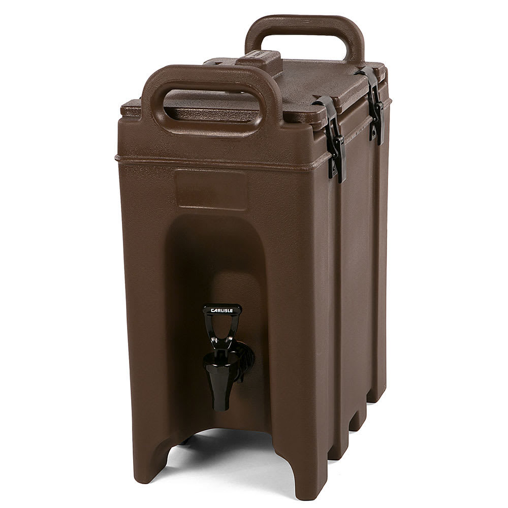 Carlisle LD250N01 2.5-gal Beverage Server - Insulated, Brown