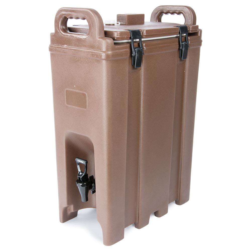Carlisle LD500N01 5-gal LD Beverage Server - Insulated, Polyethylene, Brown