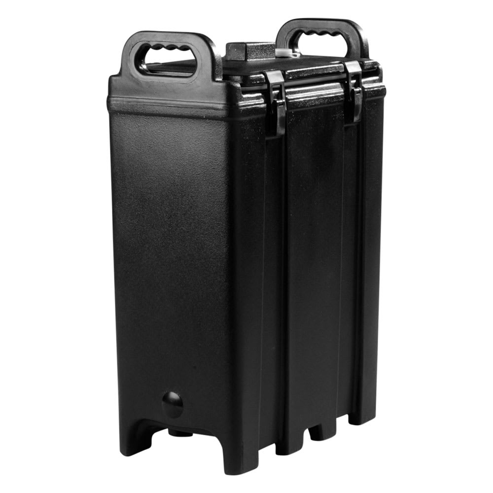 Carlisle LD500NSS03 5 gal Soup/Chili Server - Insulated, Polyethylene, Black
