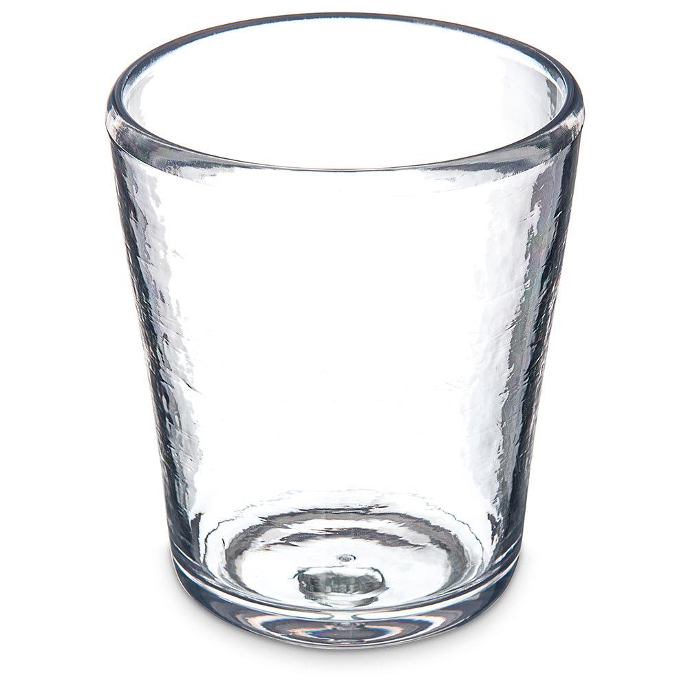 Carlisle MIN544007 14 oz Double Old Fashioned Glass - Tritan Plastic, Clear