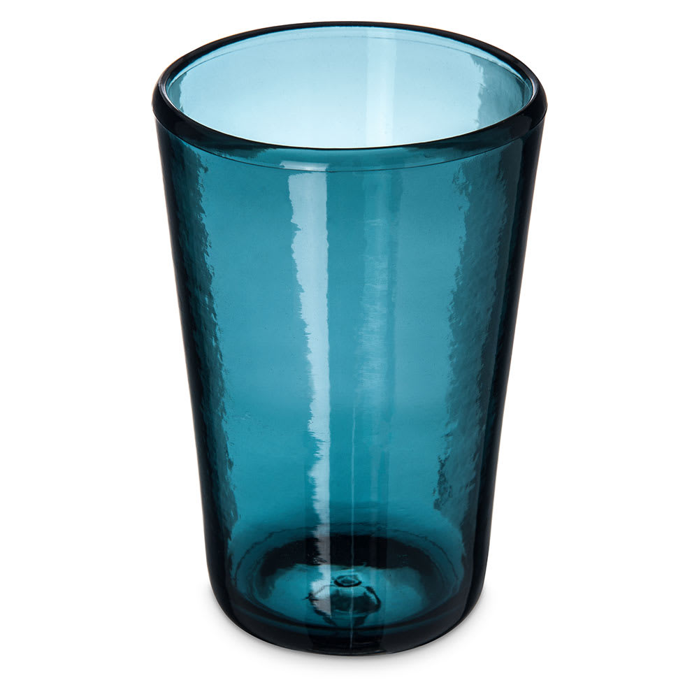Carlisle MIN544215 19-oz Hi-Ball Glass - Plastic, Teal