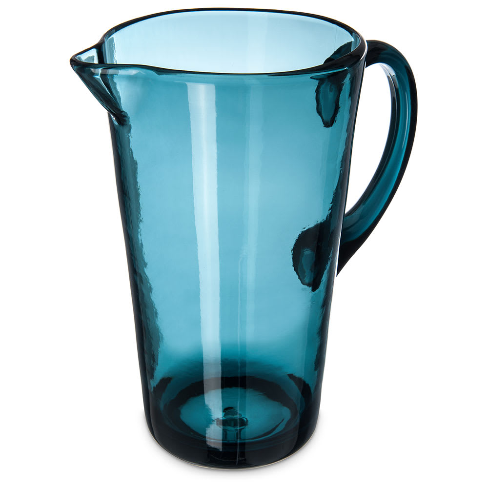 Carlisle MIN544315 74 oz Pitcher - Plastic, Teal
