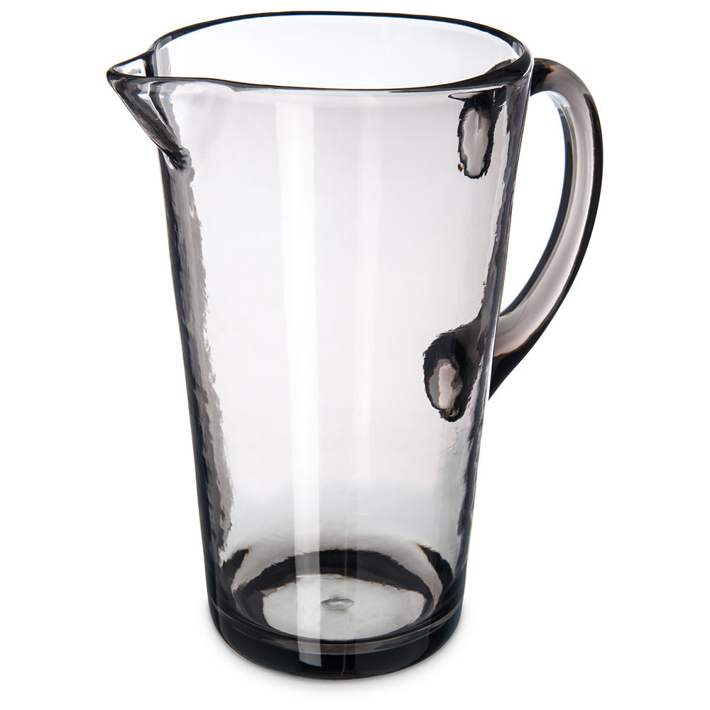 Carlisle MIN544318 74-oz Pitcher - Plastic, Smoke Gray
