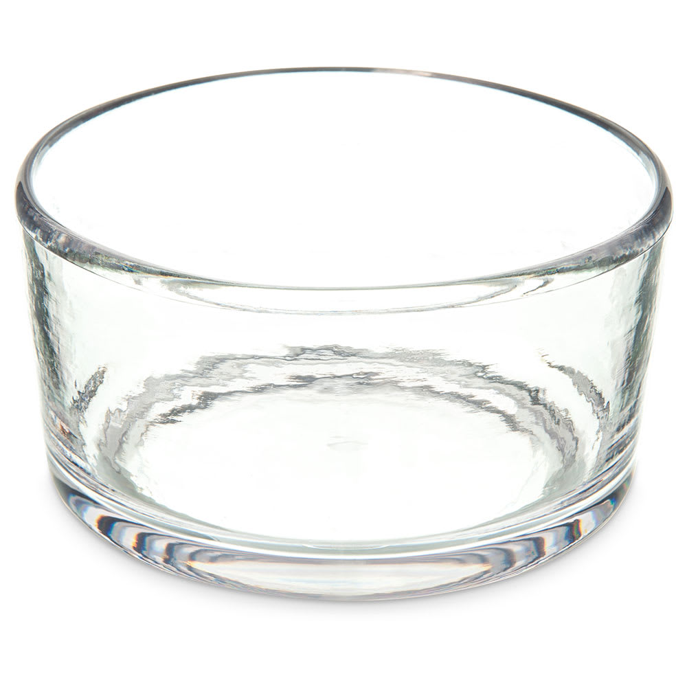 "Carlisle MIN544407 22 oz Mingle Bowl - 5""D, Plastic, Clear"