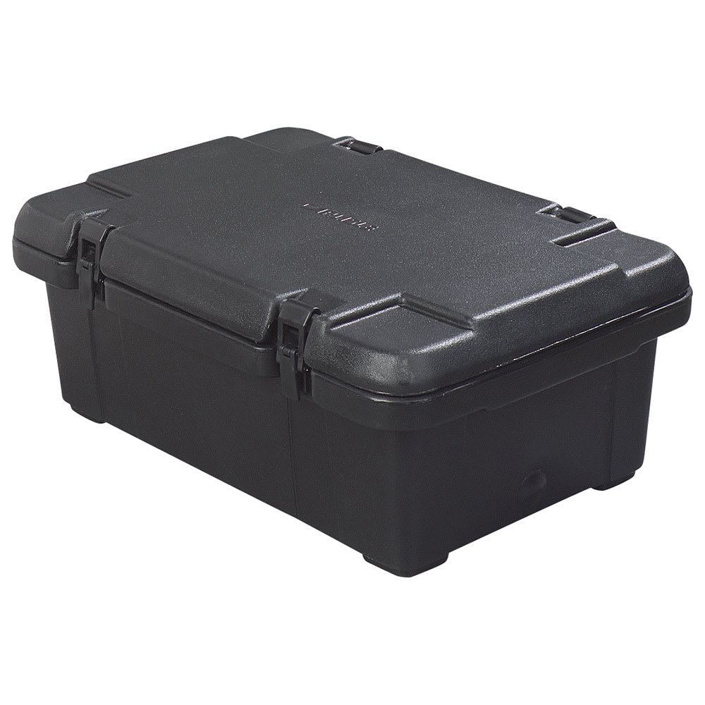 Carlisle PC160N03 Top Load Food Pan Carrier w/ 18-qt Capacity, Polyethylene, Black