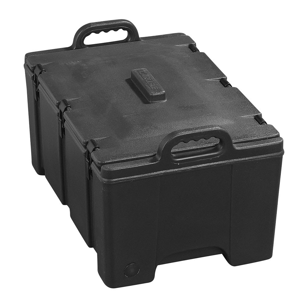 Carlisle PC180N03 Cateraide™ Insulated Food Carrier - 24 qt w/ (1) Pan Capacity, Black