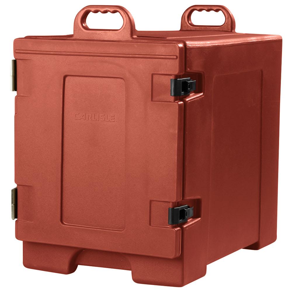Carlisle PC300N95 End Load Food Carrier w/ (5) Pan Capacity, Polyethylene, Brick Red