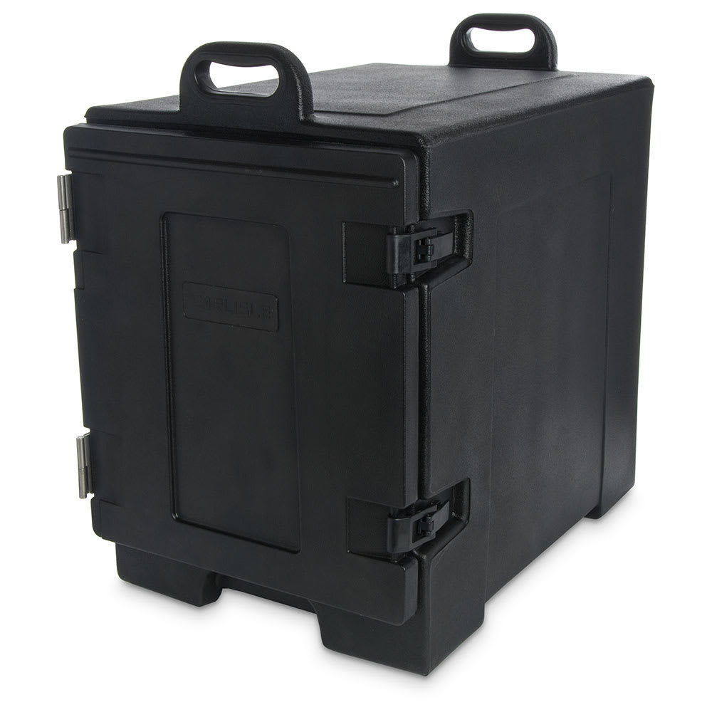 Carlisle PC300N03 End Load Food Carrier w/ (5) Pan Capacity, Polyethylene, Black