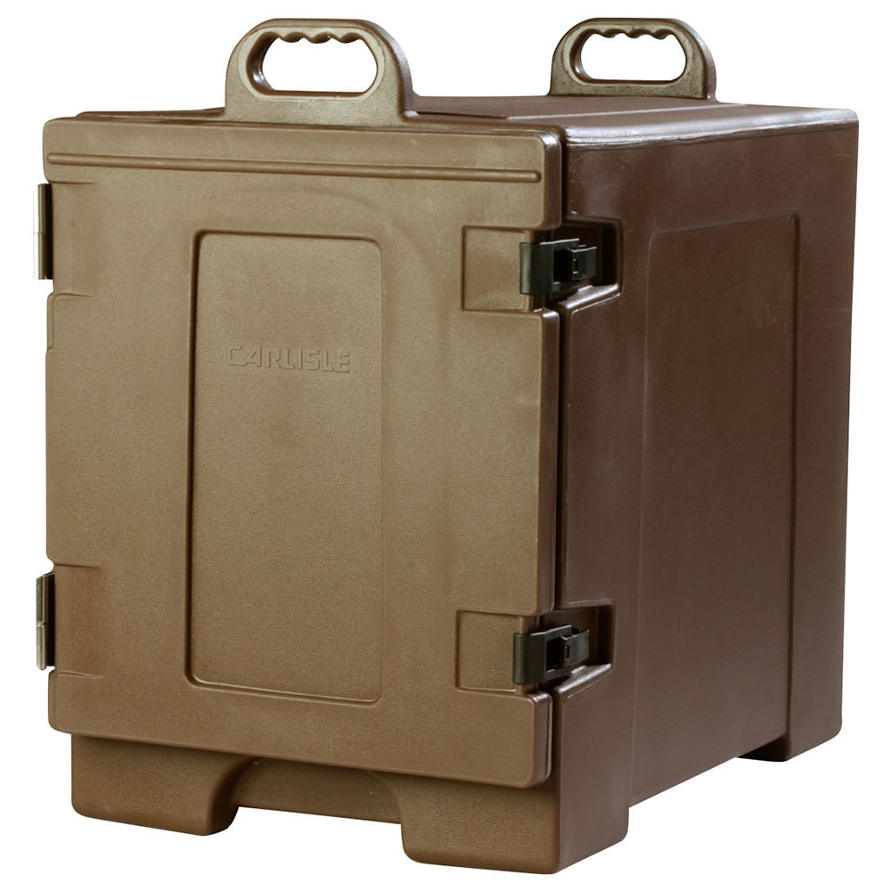 Carlisle PC300N01 End Load Food Carrier w/ (5) Pan Capacity, Polyethylene, Brown
