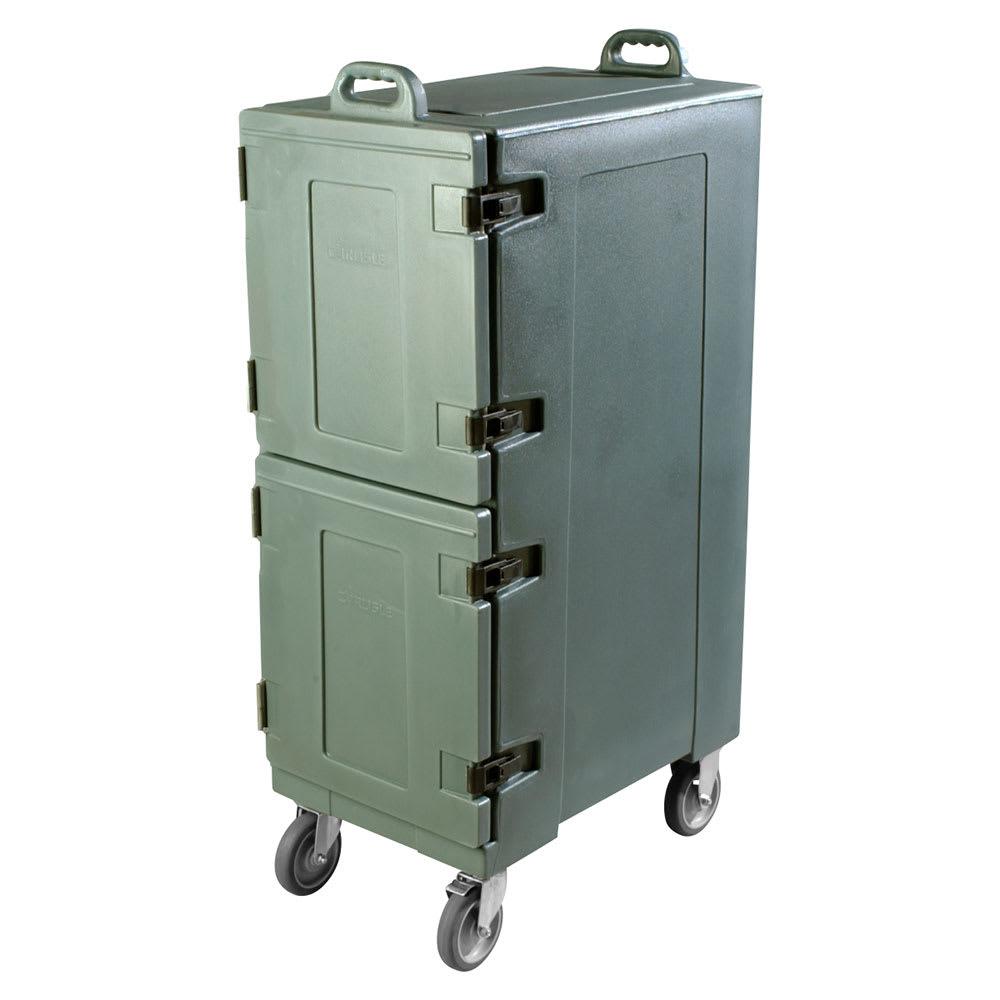 Carlisle PC600N59 Double End Load Food Carrier w/ 10 Pan Capacity, Polyethylene, Slate Blue