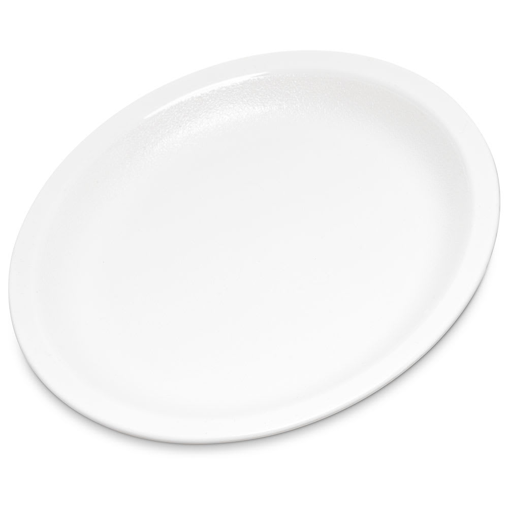 "Carlisle PCD20502 5.5"" Round Plate - Polycarbonate, White"