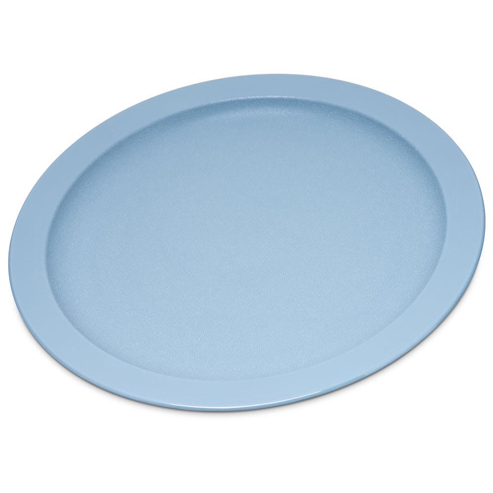 "Carlisle PCD20959 9"" Round Plate - Polycarbonate, Slate Blue"