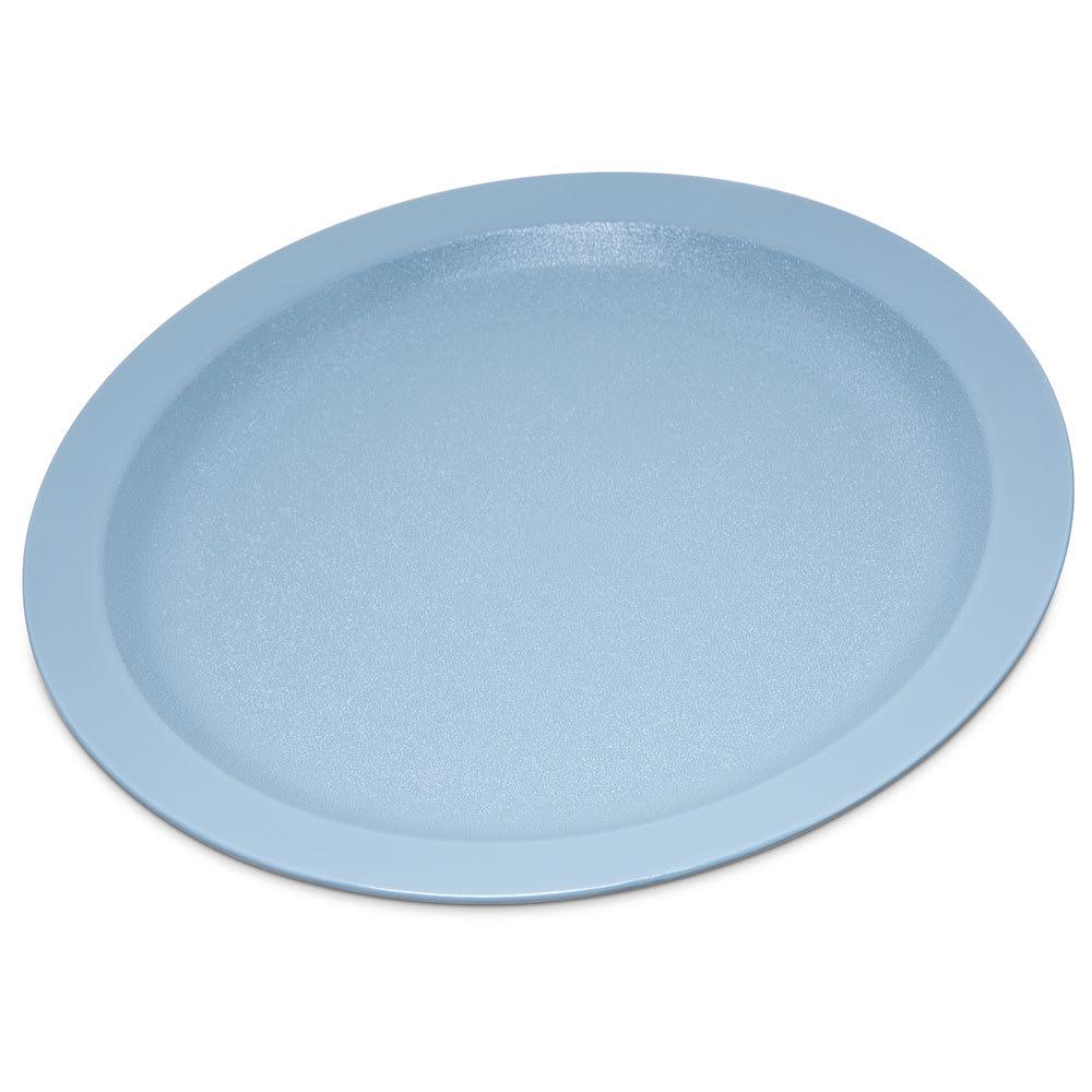 "Carlisle PCD21059 10"" Round Plate - Polycarbonate, Slate Blue"
