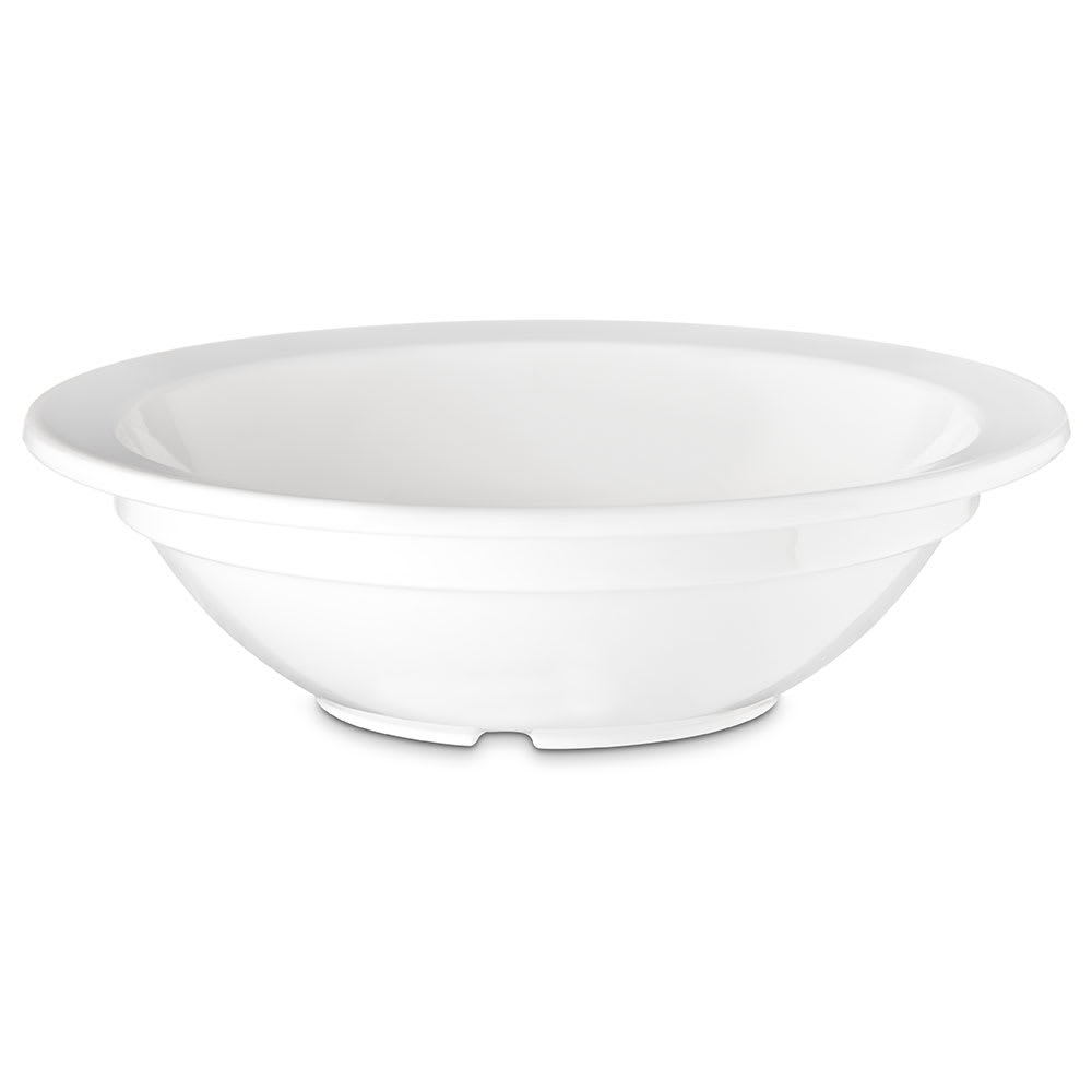"Carlisle PCD30502 3.5"" Round Fruit Bowl w/ 5-oz Capacity, Polycarbonate, White"