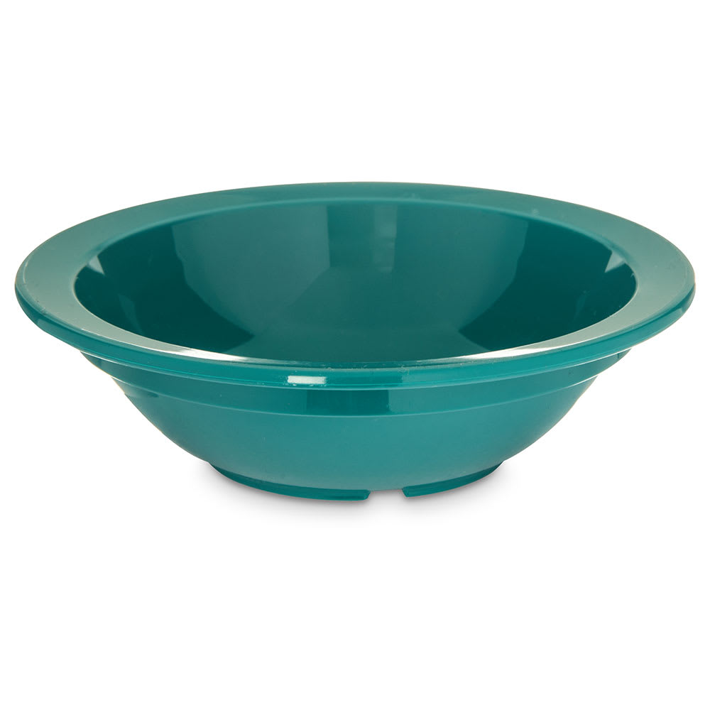 "Carlisle PCD30515 3.5"" Round Fruit Bowl w/ 5-oz Capacity, Polycarbonate, Teal"