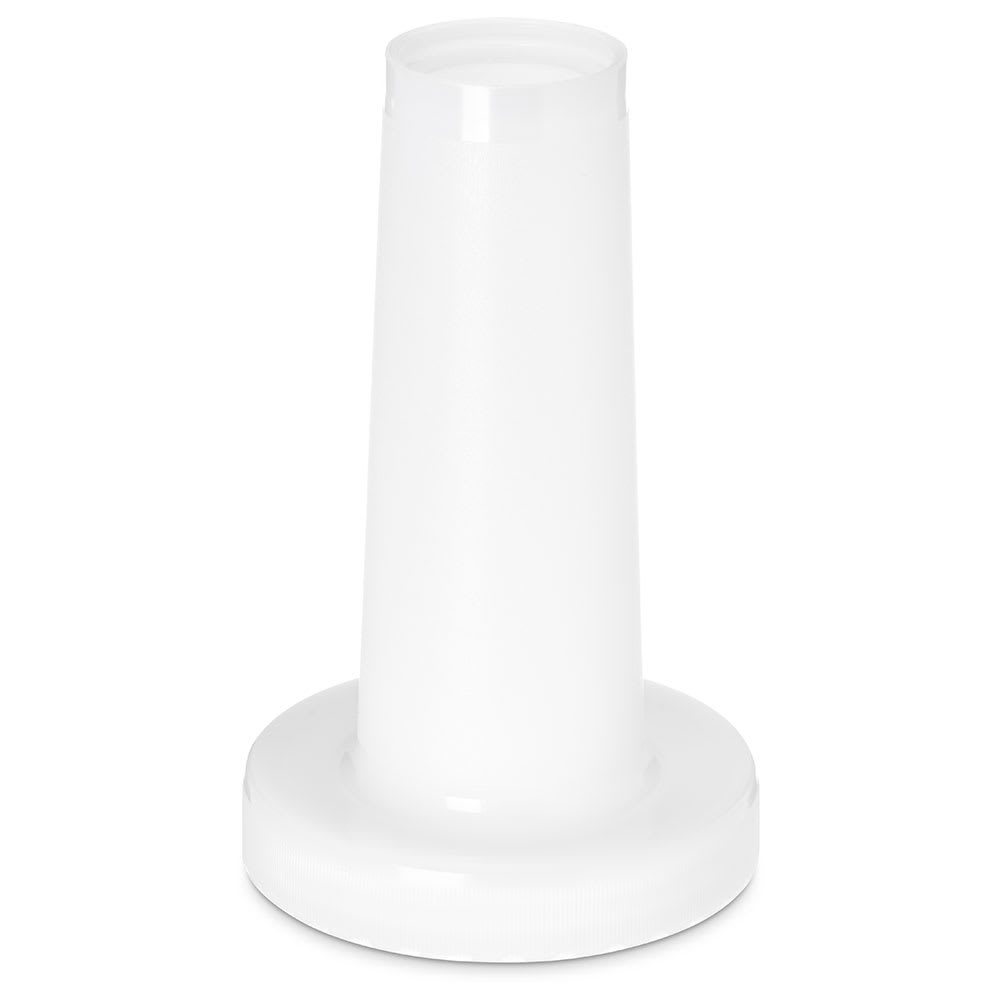 Carlisle PS20302 Store-N-Pour Neck - Polyethylene, White