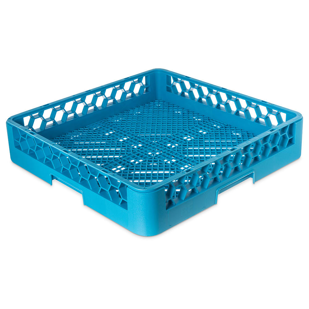 Carlisle RF14 Full-Size Dishwasher Combination/Flatware Rack - Textured Blue