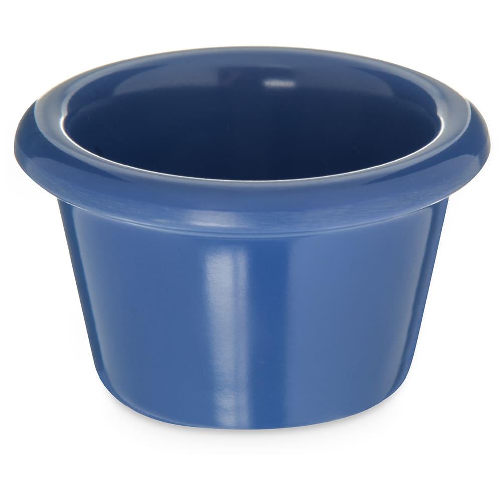 """Carlisle S27514 2.5"""" Round Ramekin w/ 1.5 oz Capacity, Melamine, Ocean Blue"""