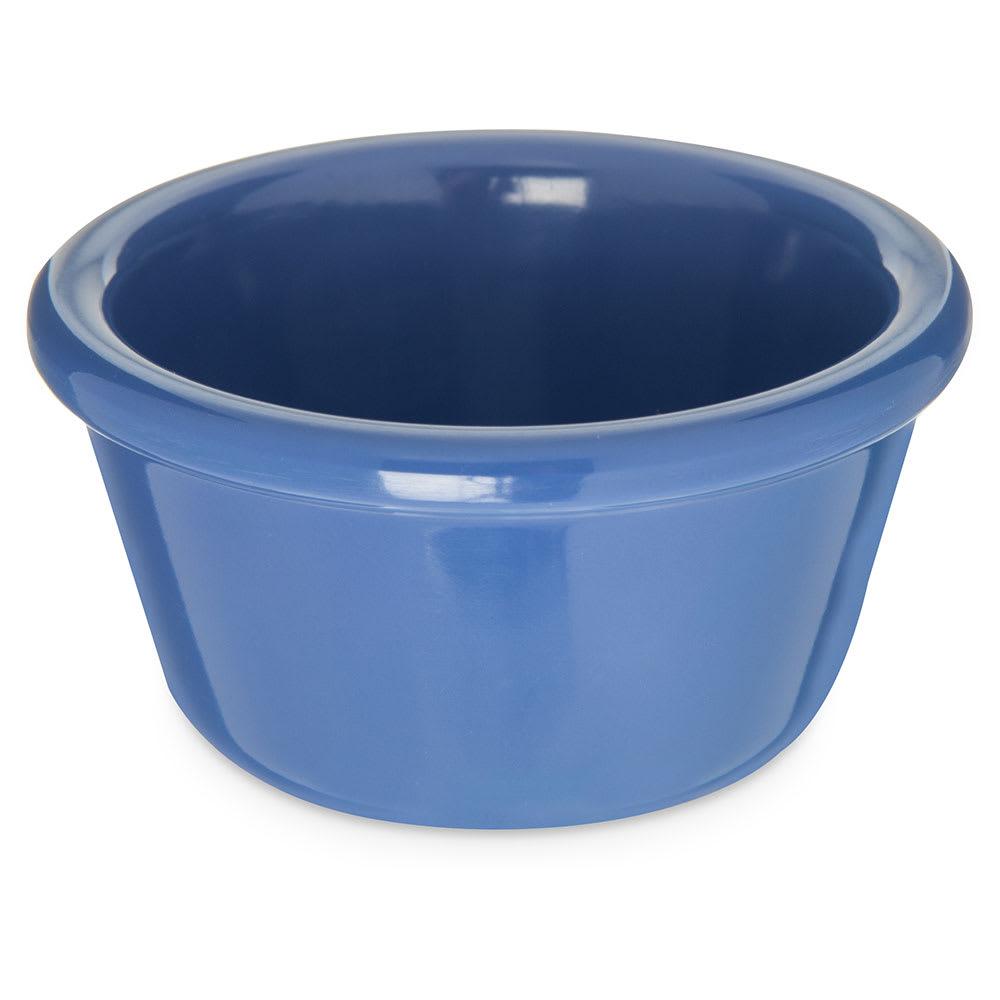 """Carlisle S28514 3.125"""" Round Ramekin w/ 4 oz Capacity, Melamine, Ocean Blue"""
