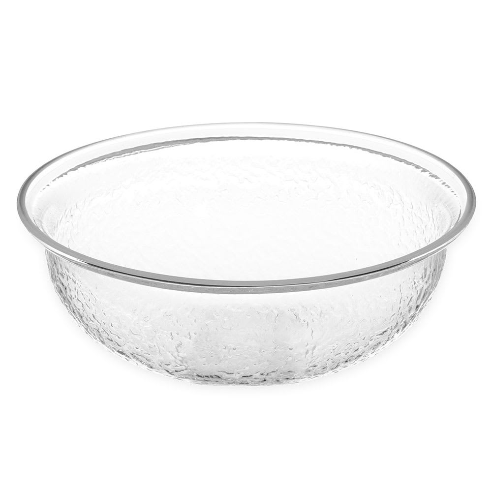 "Carlisle SB6807 8"" Round Salad Bowl w/ 1.4 qt Capacity, Acrylic, Clear"