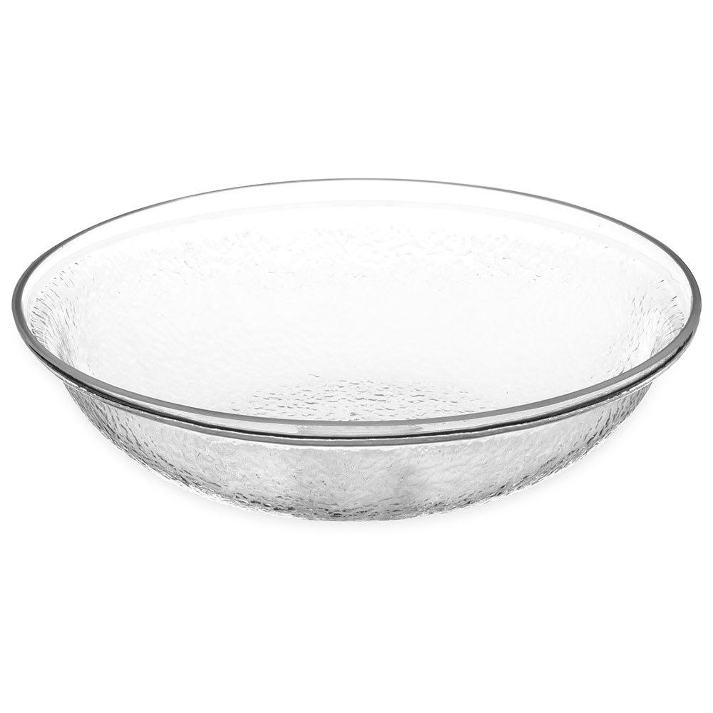"Carlisle SB7007 10"" Round Salad Bowl w/ 2-qt Capacity, Acrylic, Clear"