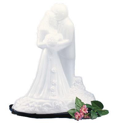 "Carlisle SBG102 Ice Sculpture Mold, 22""D x 14""W x 28""H, Bride & Groom"