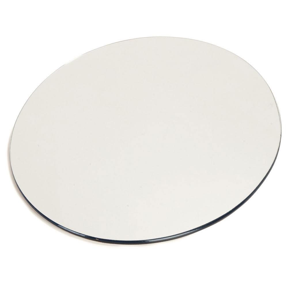 "Carlisle SMR1223 12"" Round Display Tray - Mirrored Acrylic"
