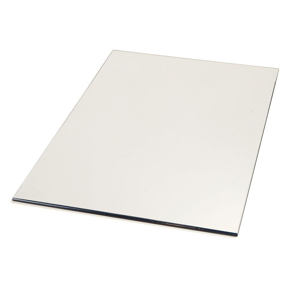"Carlisle SMR162423 Rectangular Display Tray - 24"" x 16"", Mirrored Acrylic"