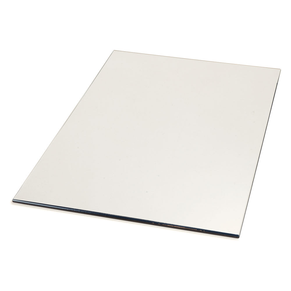 "Carlisle SMR183623 Rectangular Display Tray - 36"" x 18"", Mirrored Acrylic"