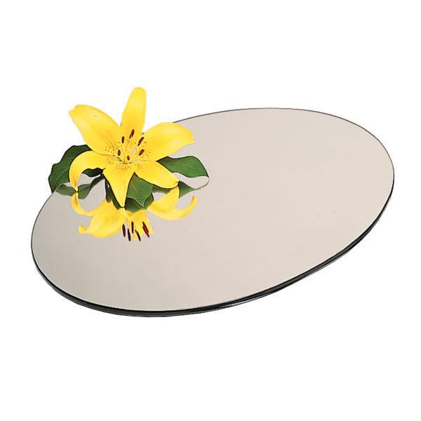 "Carlisle SMR2423 24"" Round Display Tray - Mirrored Acrylic"