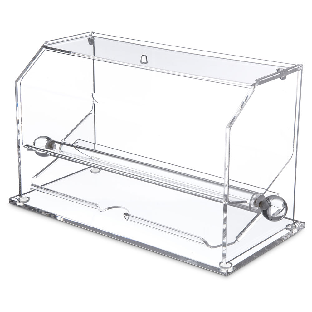 "Carlisle SSD10007 Straw Dispenser - 11"" x 5.56"" x 11.69"", Acrylic, Clear"