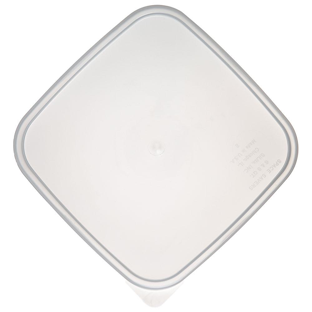 Carlisle ST158730 StorPlus Lid for 6 & 8-qt Containers, Square, Translucent