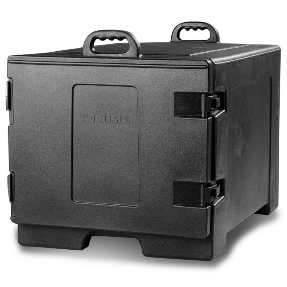 Carlisle TC1826N03 Cateraide™ Insulated Food Carrier w/ (7) Tray Capacity, Black